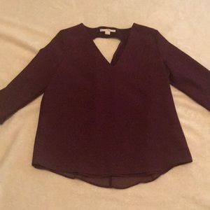 C&E Burgundy Top